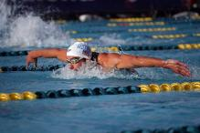 Phelps Seeks Improvement Despite Winning 200m Fly at Mesa Pro Swim
