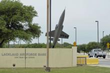 Two airmen shot dead in 'workplace violence' at Texas air base