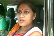 BJP Leader Rupa Ganguly Manhandles TMC Workers, FIR Lodged