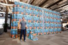Zuckerberg's team makes him unwrap the biggest present ever on April Fools' Day