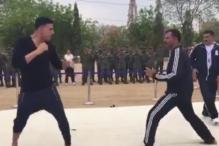 Akshay Kumar Sparring with an IPS Officer Will Give You All New Fitness Goals