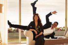 Snapshot: Akshay Kumar, Twinkle Khanna's show their fun side in a recent photoshoot