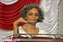 RSS was inspired by Adolf Hitler, says Arundhati Roy