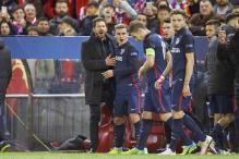 Diego Simeone Hails Atletico Players After Knocking Out Barcelona