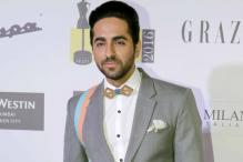 Ayushmann Khurrana pulls off a nose ring with absolute panache at a recent awards night