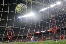 Barcelona stumble 1-0 at Sociedad; Atletico, Real close gap