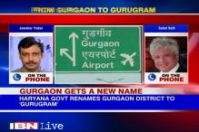 Watch: Residents vs Establishment as Gurgaon Gets New Name
