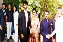 Inside Photos: Nagarjuna joins Chiranjeevi, Ram Charan for Srija's wedding reception