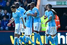 Manchester City's early burst sinks Bournemouth 4-0