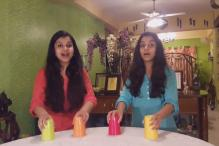 This percussive-cups version of 'Humma Humma' is totally awesome