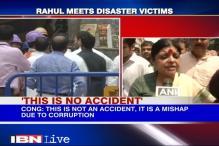 Congress blames TMC behind Kolkata bridge collapse
