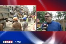 TMC blames CPM for Kolkata bridge collapse