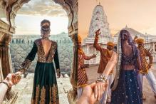 This is how the #FollowMeTo couple shot those gorgeous photos in India