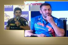 Sports Do Not Require Publicity: Gambhir on Salman's Appointment