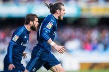 Gareth Bale's late header puts Real Madrid on top of La Liga
