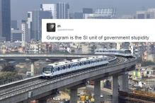 Jokes pour in as the Haryana government renames Gurgaon as 'Gurugram'