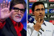 Harsha Bhogle caught BCCI bowled Amitabh Bachchan
