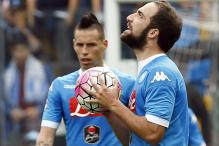 Serie A: Livid Higuain sent off as Napoli lose at Udinese