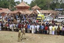 Kerala temple fire: 5 workers questioned, 1 contractor dies in explosion