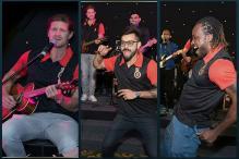 Virat Kohli Rocks the Dance Floor With Gayle, Watson Plays Guitar