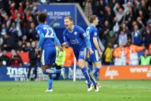 Leicester Crush Swansea 4-0, Closing in on First EPL Title