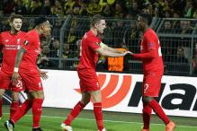 Europa League: Liverpool earn draw on Klopp's Dortmund reunion