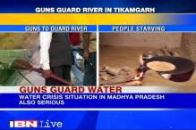 Drought forces armed men to guard river water in Madhya Pradesh