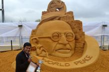 Sand Artist Sudarsan Pattnaik Bags Gold at Moscow Championship