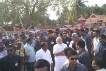 PM visits site of Kerala temple fire which killed over 100, pledges Centre's help