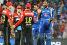 IPL 9: Rohit, Pollard Power Mumbai to 6-Wicket Win Over RCB