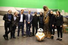 British Princes Meet 'Star Wars: Episode VIII' Cast