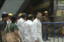 Rahul says 'no politics' in visiting Kolkata bridge collapse site, 'came for people'