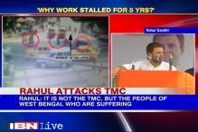 Rahul Gandhi attacks TMC over Kolkata flyover collapse
