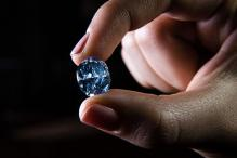 Rare blue diamond sets new record at Sotheby's auction