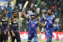 Rohit, Pollard Fire Mumbai to Six-wicket Win Over Kolkata
