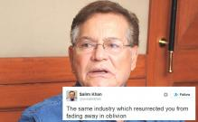 Salim Khan defends Salman, takes a potshot at Milkha Singh on Twitter