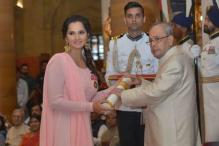 Sania Mirza Honoured With Padma Bhushan