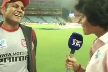Watch: Sehwag's Punjabi Chat with Anjum Chopra is a Laugh Riot
