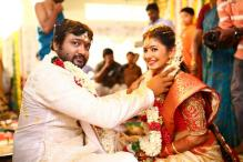 Actors Bobby Simhaa, Reshmi Menon Tie the Knot