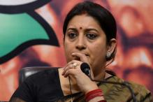 SP Govt Failed to Curb Crime Against Women in UP: Smriti Irani