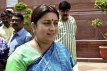 Smriti Irani's 1996 BA Documents Yet to be Found: DU to Court