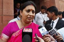 IITs Asked to Teach Sanskrit: Smriti Irani