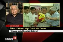 HC Revoking President's Rule a Setback for Centre: Soli Sorabjee