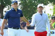 Spieth maintains lead, McIlroy back in contention at the Masters