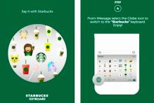 Starbucks Launches Own Emoji Keyboard