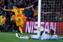 Champions League: Suarez double sees Barca recover to beat 10-man Atletico Madrid