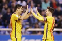 Luis Suarez on Fire as Barcelona Rout Deportivo 8-0