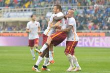 Juventus Tighten Grip on Top Spot; Totti Saves Roma