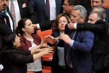 New Brawl Erupts in Turkey Parliament as Tensions Surge