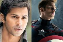 Varun Dhawan to be the voice of Captain America in hindi dubbed version of 'Captain America: Civil War'